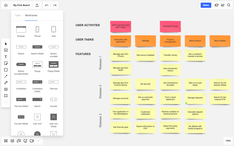 Discovery Workshop process: Detailed document - Technical assessment - Clickable prototype - Development Plan